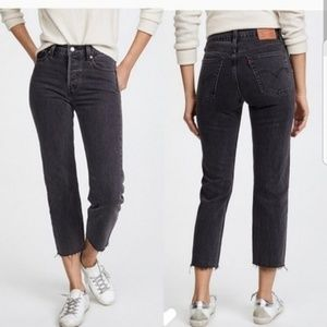 Levi's High Rise Wedgie Straight Leg Jeans